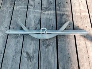 3 piece Luke Storm anchor disassembled