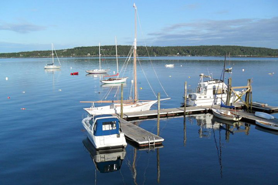 moorings in boothbay